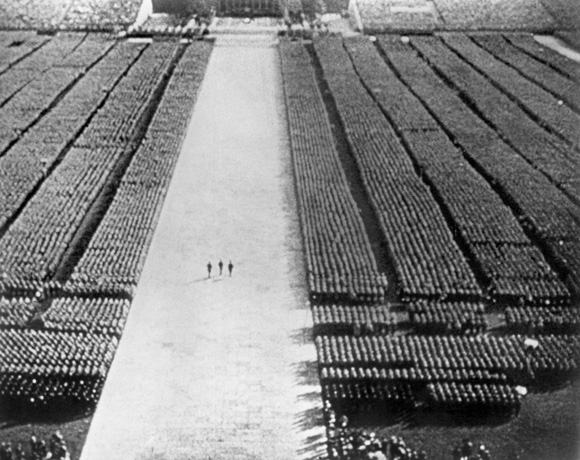 Triumph of the Will. 1935. Germany. Produced, directed, and edited by Leni Riefenstahl