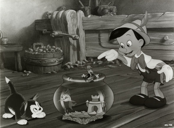 Pinocchio. 1940. USA. Produced by Walt Disney