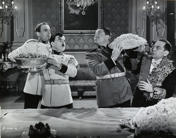The Great Dictator. 1940. USA. Directed, produced, and written by Charles Chaplin