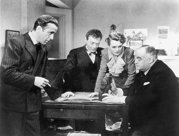 The Maltese Falcon. 1941. USA. Directed by John Huston