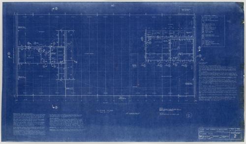 Ludwig Mies van der Rohe. Morris Greenwald House, Weston, Connecticut, Floor plan