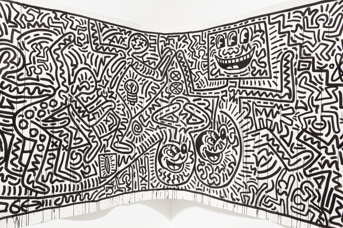 The color-play coloring book moma - Keith Haring