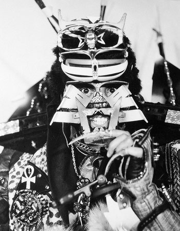 Rammellzee. Photo by Per Zennström. Courtesy of Per Zennström, http://perzennstrom.com