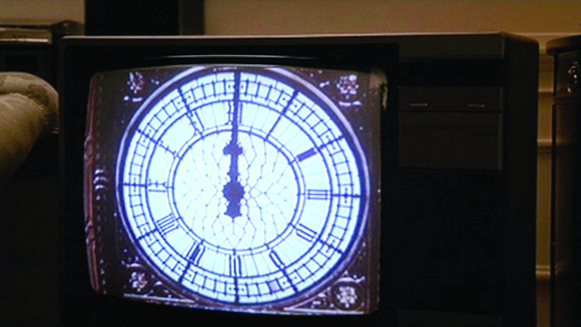 Christian Marclay. Video stills from The Clock. 2010. Single-channel video with sound, 24 hours. Courtesy the artist and Paula Cooper Gallery, New York