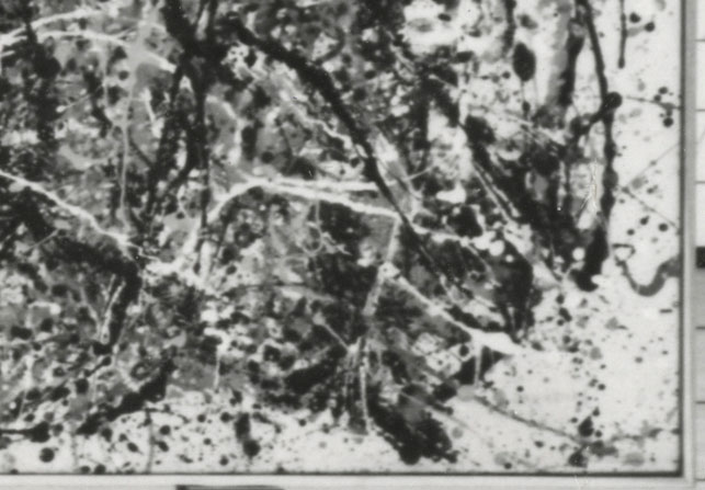 Cropped detail of One's lower right corner from the 1958 image. As you can see, trying to obtain detailed information from such photographs, however, proves to be limited