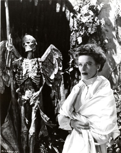 Katharine Hepburn in Suddenly, Last Summer. 1959. USA. Directed by Joseph L. Mankiewicz