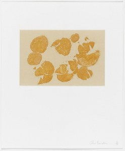 Chris Burden. Untitled from Coyote Stories. 2005. Etching with chine collé from a portfolio of ten etchings, five with aquatint, and 25 digital prints with chine collé. Museum of Modern Art, New York. Monroe Wheeler Fund. © 2013 Chris Burden