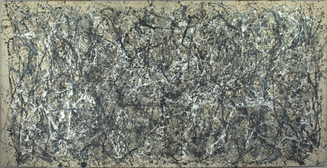 Jackson Pollock. One: Number 31, 1950. Oil and enamel paint on canvas. Sidney and Harriet Janis Collection Fund (by exchange). © 2013 Pollock-Krasner Foundation / Artists Rights Society (ARS), New York