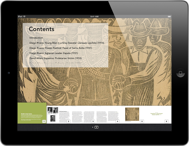 Screenshot from <em>Diego Rivera, David Alfaro Siqueiros, and Josè Clemente Orozco</em>