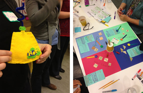 Prototypes of design solutions for education
