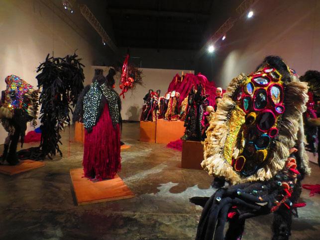 Installation view of Shine Shivan: Glimpse of Thirst, Gallery Maskara, Mumbai, January 11–March 14, 2013