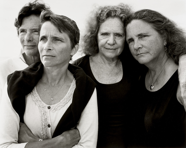 Nicholas Nixon. The Brown Sisters, Truro, Massachusetts. 2011. Gelatin silver print. Gift of the artist. © 2013 Nicholas Nixon