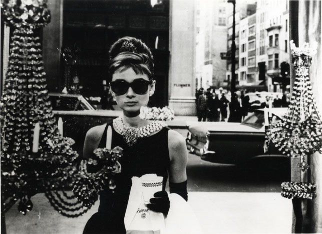 Audrey Hepburn in Breakfast at Tiffany's. 1961. USA. Directed by Blake Edwards