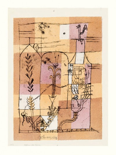 Paul Klee. <i>Hoffmannesque Scene</i>. 1921.
