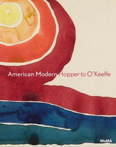 Cover of the publication American Modern: Hopper to O'Keeffe, published by The Museum of Modern Art