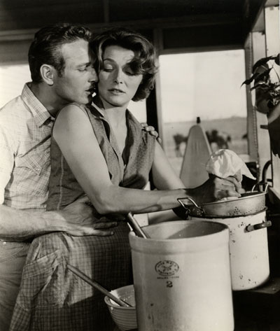 Paul Newman and Patricia Neal in <i>Hud.</i> 1963. USA. Directed by Martin Ritt