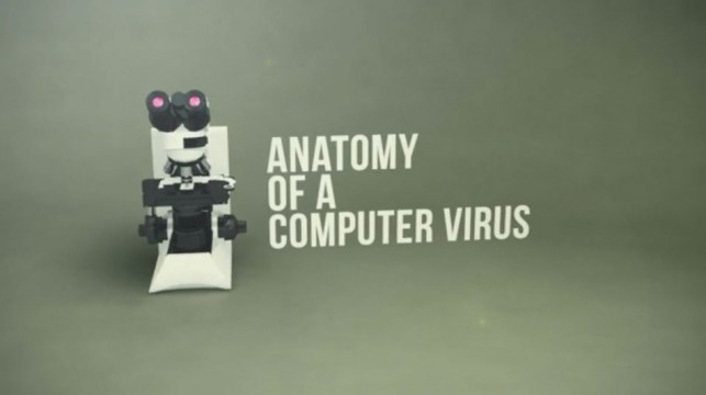 Patrick Clair. Stuxnet: Anatomy of a Virus. 2011. Motion Graphics, video, 3:21 min. Co-produced by Australian Broadcasting Corporation and Zapruder's Other Film. Courtesy of the artist