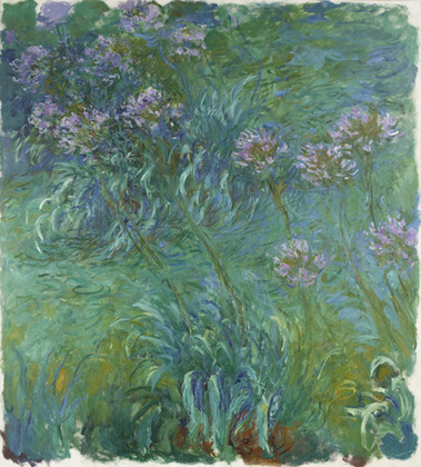 Claude Monet (French, 1840–1926) Agapanthus, 1914-26. Oil on canvas