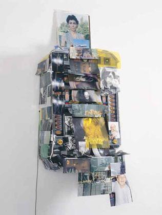 Isa Genzken (German, born 1948). Spielautomat (Slot Machine) 1999.