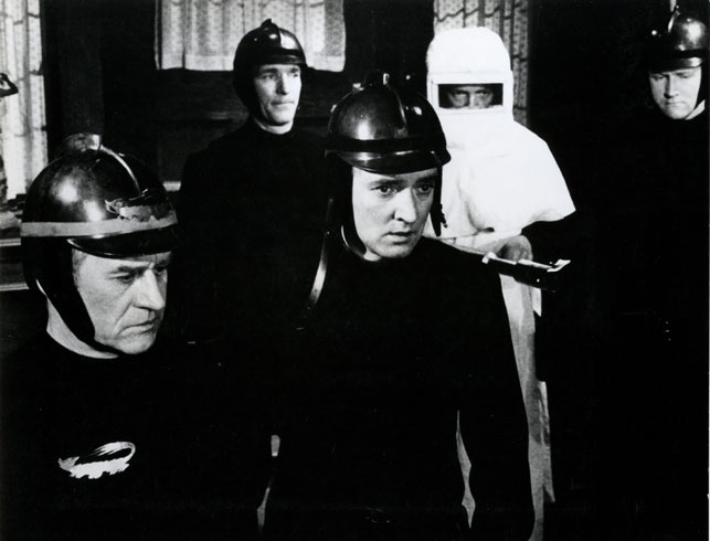 Fahrenheit 451. 1966. Great Britain. Directed by Francois Truffaut