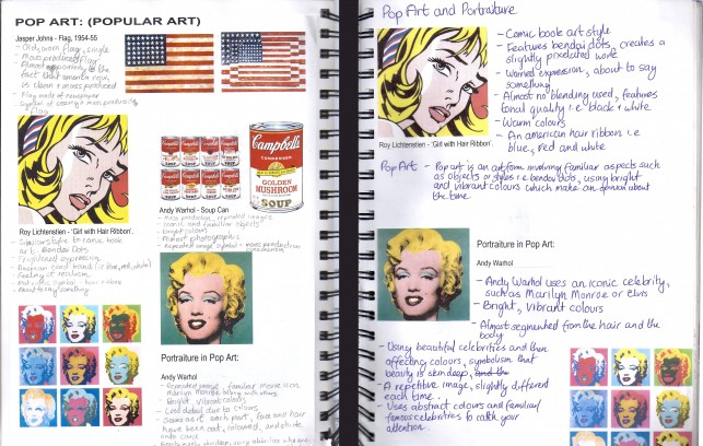 Luca's notebook from New Zealand, featuring images from MoMA's collection