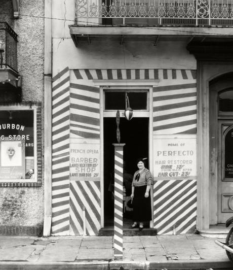 Walker Evans (American, 1903–1975) Sidewalk and Shopfront, New Orleans, 1935. Gelatin silver print