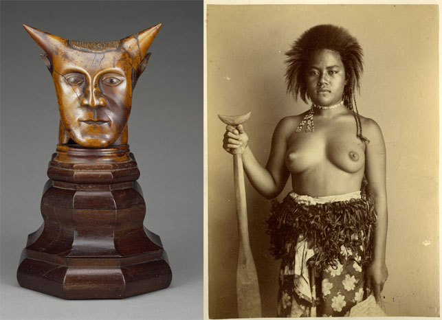 Paul Gauguin. <i>Head with Horns</i>. 1895–97