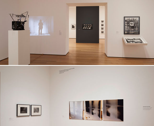 Installation views of A World of Its Own: Photographic Practices in the Studio, The Museum of Modern Art, February 8–October 5, 2014