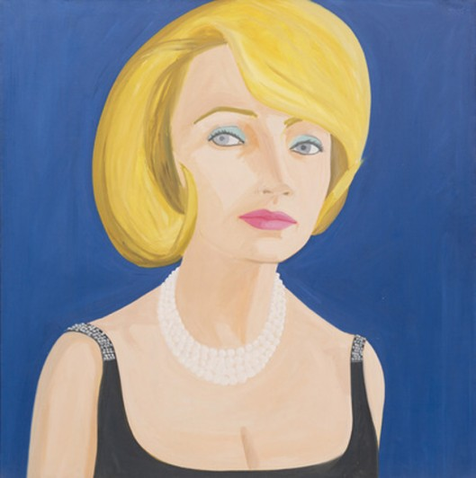 "Alex Katz. Lita. 1964. Oil on canvas, 60 x 60 1/8"" (152.4 x 153 cm). Gift of Lita Hornick. © 2014 Alex Katz"