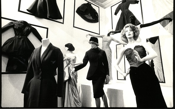 Installation view of the MoMA PS1 exhibition, Fashion (Fall 1981): Homer Layne's Collection of Charles James Fashions (October 18–December 13, 1981). Photograph by Ivan Dalla Tana. MoMA PS1 Archives, I.A.631.