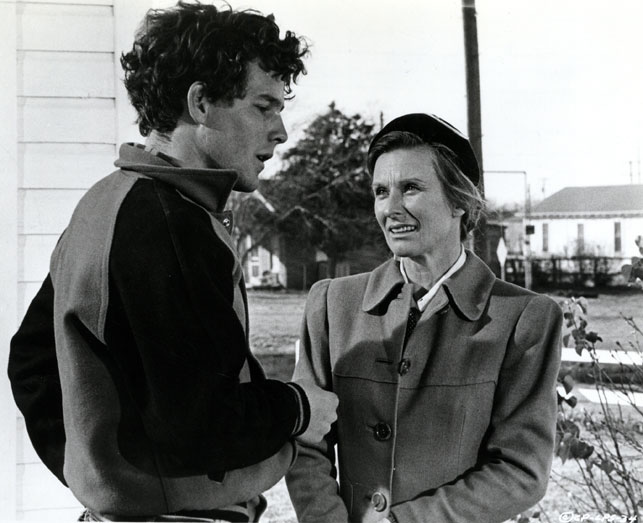 Timothy Bottoms and Cloris Leachman in The Last Picture Show. 1971. USA. Directed by Peter Bogdanovich