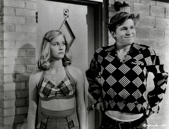 Cybill Shepherd and Jeff Bridges in The Last Picture Show. 1971. USA. Directed by Peter Bogdanovich