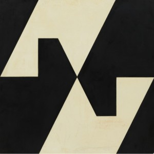"Lygia Clark. Planos em superfície modulada, no 4. 1957.  Formica and industrial paint on wood, 39 1/4 x 39 1/4"" (99.7 x 99.7 cm).  The Museum of Modern Art, New York. Gift of Patricia Phelps de Cisneros through the Latin American and Caribbean Fund in honor of Kathy Fuld. Courtesy of World of Lygia Clark Cultural Association. Photo: © Thomas Griesel"