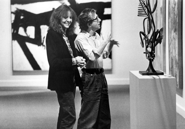 Diane Keaton and Woody Allen at the Museum of Modern Art in <i>Manhattan</i> (1979). Courtesy of United Artists.