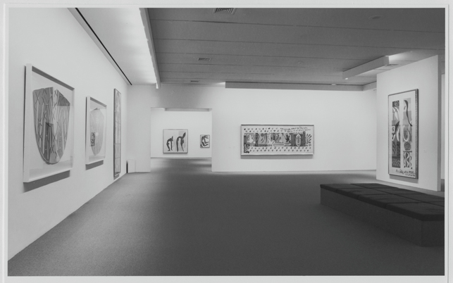 Installation view of the exhibition Henri Matisse: A Retrospective, 1992-93. Photographic Archive. The Museum of Modern Art Archives, New York