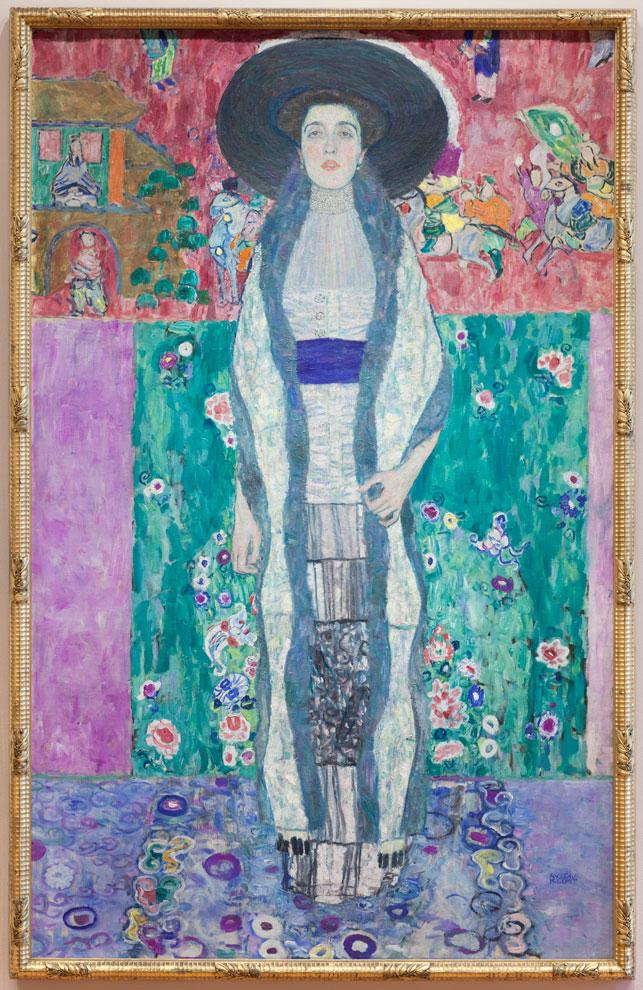 MoMA | Now in the Galleries: Gustav Klimt's Adele Bloch ... Klimt Adele Bloch Bauer Ii