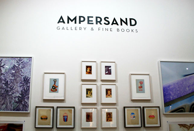 Ampersand Gallery & Fine Books at the New York Art Book Fair