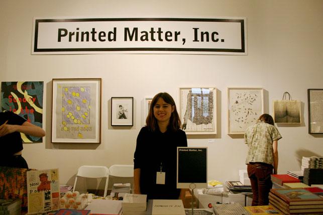 Leslie Lasiter, Bibliographer at Printed Matter