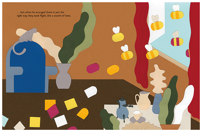 Interior spread from Matisse's Garden. © The Museum of Modern Art. Illustration by Cristina Amodeo. © Cristina Amodeo