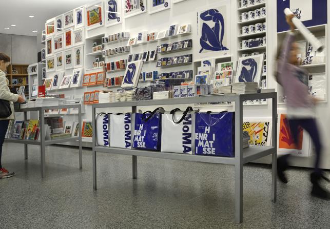 MoMA retail display. Photo: Martin Seck