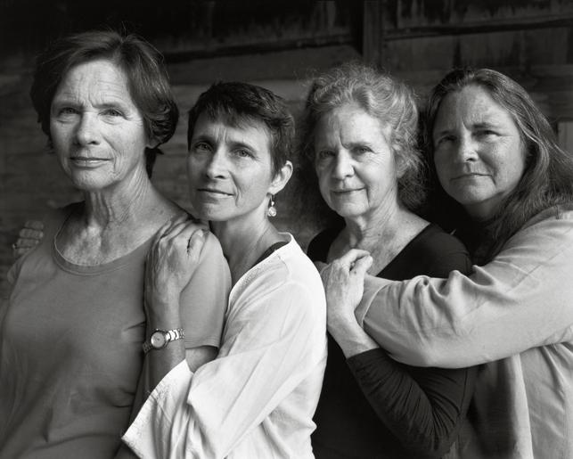 Nicholas Nixon. The Brown Sisters, Wellfleet, Massachusetts. 2014. The Museum of Modern Art, New York. Cornelius N. Bliss Memorial Fund. © 2014 Nicholas Nixon