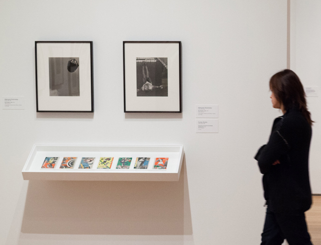 Installation view of Modern Photographs from the Thomas Walther Collection, 1909–1949, The Museum of Modern Art, New York, December 13, 2014–April 19, 2015. Photo: Jonathan Muzikar. © 2015 The Museum of Modern Art