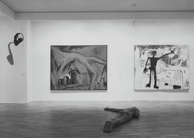Installation view of the exhibition International Survey of Recent Painting and Sculpture, The Museum of Modern Art, New York, May 17–August 19, 1984. The Museum of Modern Art Photographic Archive. The Museum of Modern Art Archives. Photo: Katherine Keller