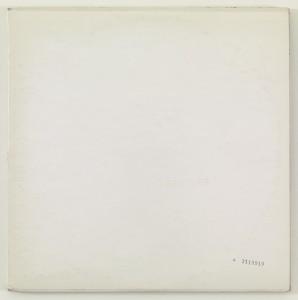 The Beatles. Richard Hamilton. 1968. Two vinyl records. Source: Steven Leiber. Photographer: Thomas Griesel.