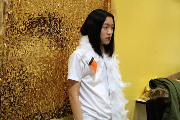 """Björk"" arrives on the scene in a familiar looking garment"