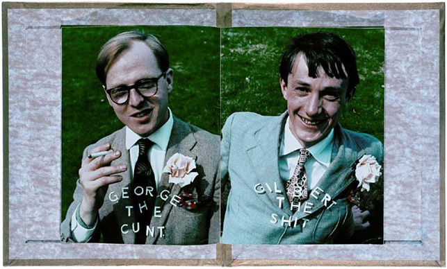 Gilbert & George. The Shit and the Cunt. 1970. Printed publication, letterpress and relief halftone, four pages. The Museum of Modern Art Library, New York