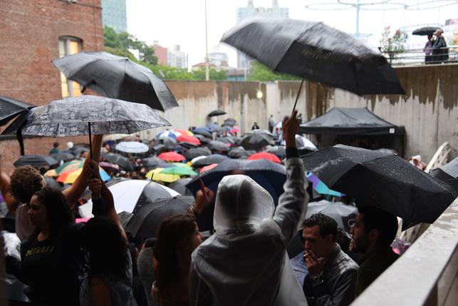 MoMA PS1 Warm Up, Saturday, June 27, 2015. Photo: Gillian Steiner