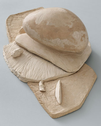 "Frederick Kiesler. Endless House. 1947–60. First model, 1950. Ceramic, 20 x 11 1/2 x 6"" (50.8 x 29.2 x 15.2 cm). The Museum of Modern Art, New York. Purchase, 1952"