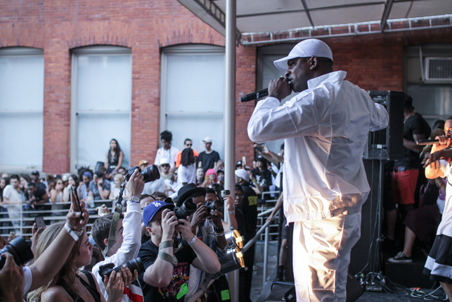 Skepta, MoMA PS1 Warm Up, Saturday, July 25, 2015. Photo: Mark Cole