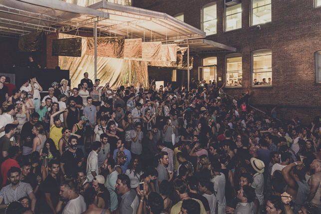MoMA PS1 Warm Up, Saturday, August 1, 2015. Photo: Charles Roussel
